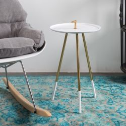 Table d'Appoint Rumbi | Blanc