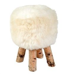 Stool Icelandic White