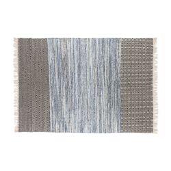Teppich Boho | Hellblau