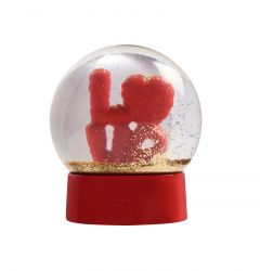 Snow Globe Love | Red