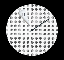 Freakish Clock Dots