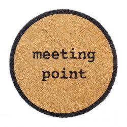 Paillasson d'Extérieur Meeting Point | Brun