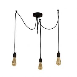 Wire Hanging Lamp | 3 Lights