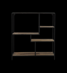 Decoration Shelf Levels 70 x 20 x 80 cm | Mango Wood