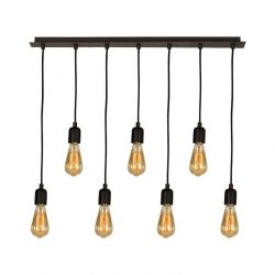 Wire Hanging Lamp | 7 Lights