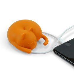 Cable Organiser Cat | Brown