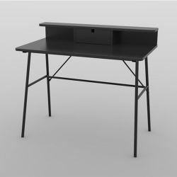 Schreibtisch Pascal | Schwarz