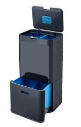 Intelligent Waste Bin Totem 58L | Graphite