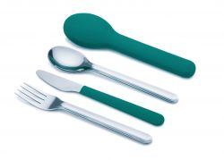 Compact Cutlery GoEat | Blue