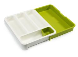Küchenschublade Organiser DrawerStore | Weiß & Grün