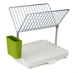 2-tier Dish Drainer Y-Rack | White