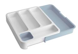 Küchenschublade Organiser DrawerStore | Blau & Weiß