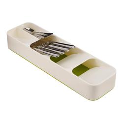 Cutlery Organizer DrawerStore | Green & White