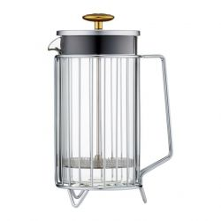 French Press for 8 Cups Corral | Silver