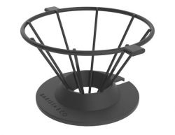 Pour Over Coffee Filter Corral | Black