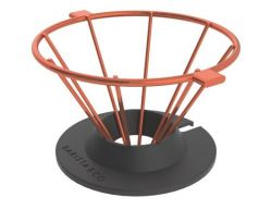 Pour Over Coffee Filter Corral | Copper