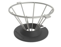 Pour Over Coffee Filter Corral | Silver