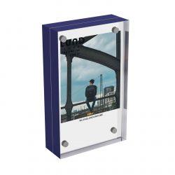 Photoframe Skittle 8.7 x 5.4 x 2 cm | Indigo