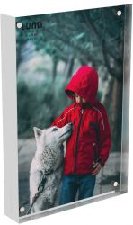 Photoframe Skittle 15.2 x 10.2 x 2 cm | White