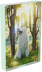 Photoframe Skittle 15.2 x 10.2 x 2 cm | Mint Blue