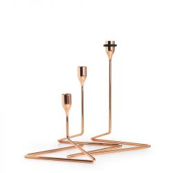 Candlesticks Puzzle | Copper