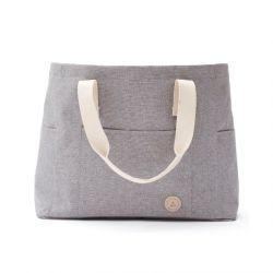 Recycelte Strandtasche Sortino | Grau