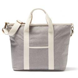 Recycelte Shopper-/Kühltasche Sortino | Grau