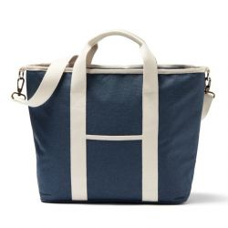 Recycelte Shopper-/Kühltasche Sortino | Marineblau