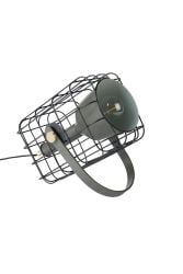 Lampe de Table Cage | Noir