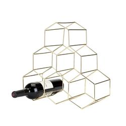Geometric Wine Rack Belmont