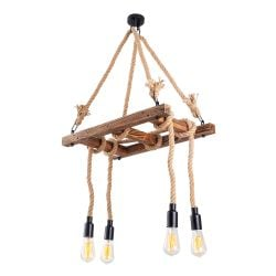 Chandelier Erebos 102-AV | Wood