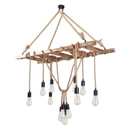 Chandelier Erebos 103-AV | Wood