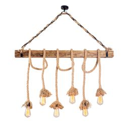 Chandelier Erebos 104-AV | Wood