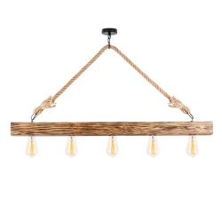 Chandelier Erebos 106-AV | Wood