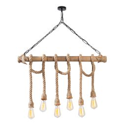 Chandelier Erebos 113-AV | Wood