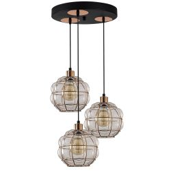 Pendant Lamp Safderun 401-S2 | Copper