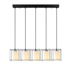Pendant Lamp Swank 702-5S1 | Black