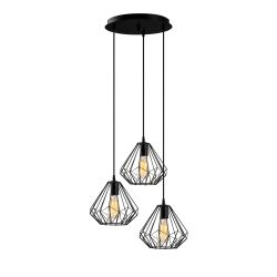 Pendant Lamp Diamond 704-S2 | Black