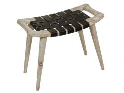 Clear Sawyer Stool Small | Natural