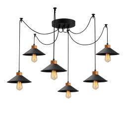 Hanging Lamp Manavgat N-559 | Black
