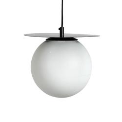 Hanglamp Lush Globe | Wit & Zwart