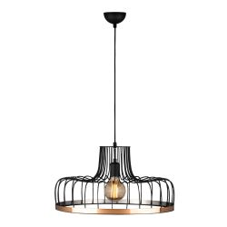 Hanging Lamp Fellini MR-769 | Black Copper