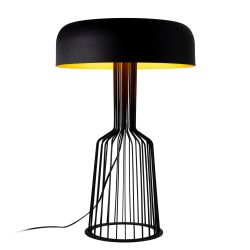 Lampe de Table Fellini MR-123 | Noir & Or