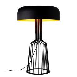 Tischlampe Fellini MR-123 | Schwarz & Gold