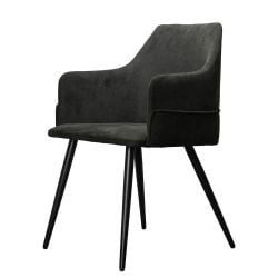 Lounge Chair Carla | Black