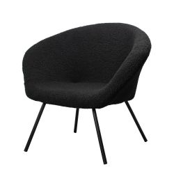 Lounge Chair Theodore  | Black