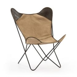 Kenia Arm Chair | Khaki