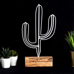 Decorative Object Cactus | White