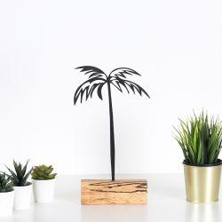 Dekoratives Objekt Palme | Schwarz