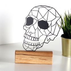 Decorative Object Skull | Black